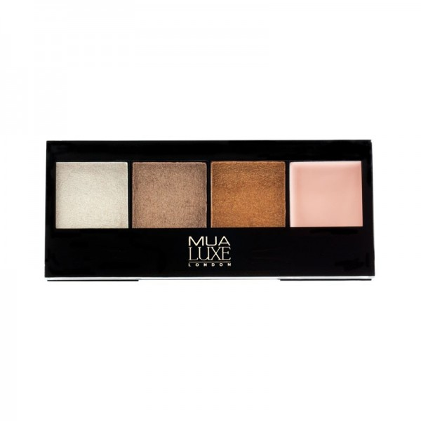 MUA Luxe Metallic Eyeshadow Palette - Alchemy