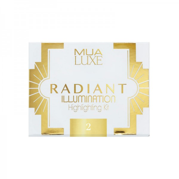 MUA Luxe Radiant Illumination Highlight Kit 2