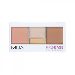 MUA Pro-Base Cover and Conceal Kit - Shell