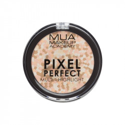 MUA Pixel Perfect Multi Highlight Powder - Moonstone Shine
