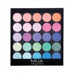 MUA 25 Shade Eyeshadow Palette Tropical Oceana