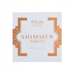 MUA Luxe Shimmer Sheet - Rose Gold