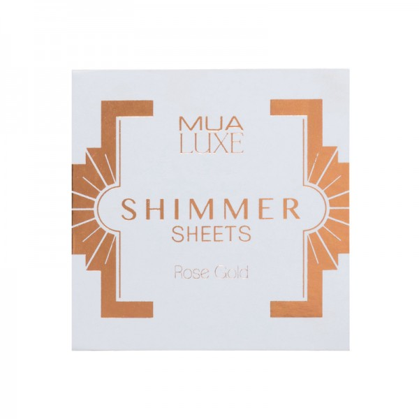 MUA Luxe Shimmer Sheet - Rose Gold