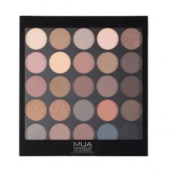 MUA 25 Shade Eyeshadow Ultimate Undressed