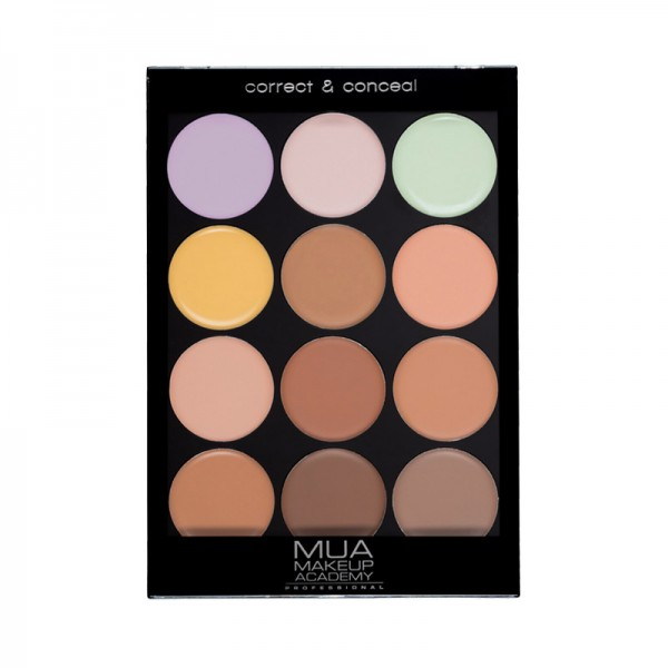MUA Professional Palette - Correct & Conceal Cool