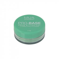 MUA Pro-Base Correcting Powder - Green