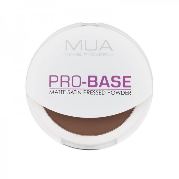 MUA Pro Base Matte Satin Pressed Powder - Cocoa