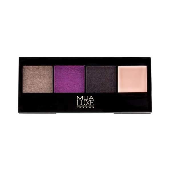 MUA Luxe Metallic Eyeshadow Palette - Mysterial
