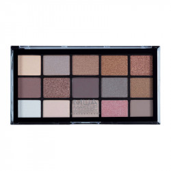 MUA Pro 15 Shade Eyeshadow Palette Heavenly Neutral