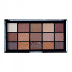 MUA Pro 15 Shade Eyeshadow Palette Au Naturel