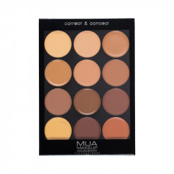 MUA Professional Palette - Correct & Conceal Dark
