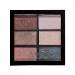 MUA Professional 6 Shade Eyeshadow Palette - Dusky Curiosities