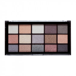 MUA Pro 15 Shade Eyeshadow Palette Frosted Gleam