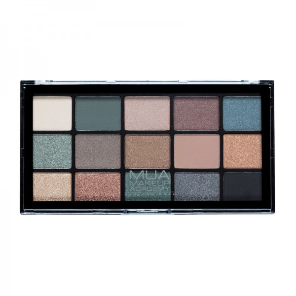 MUA Pro Eyeshadow Palette - Green Goddess