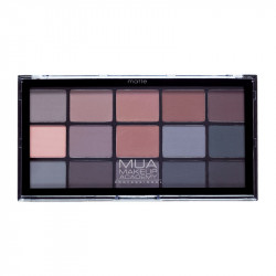 MUA Pro 15 Shade Eyeshadow Palette Matte Shadow Mysteries
