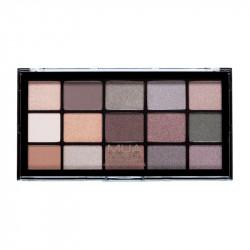MUA Pro 15 Shade Eyeshadow Palette Magnetic Charm