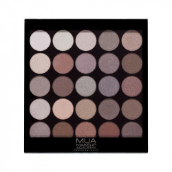 MUA 25 Shade Eyeshadow Cashmere Collective