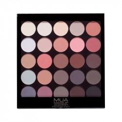 MUA 25 Shade Eyeshadow Matte Supreme