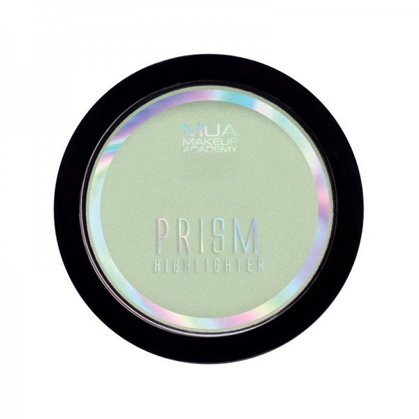 MUA Prism Highlighter Powder - Polarised Green