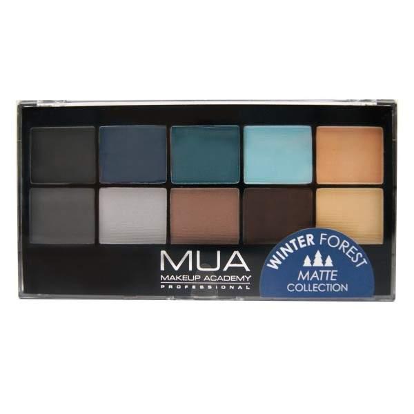 MUA Winter Forest Matte Eyeshadow Palette