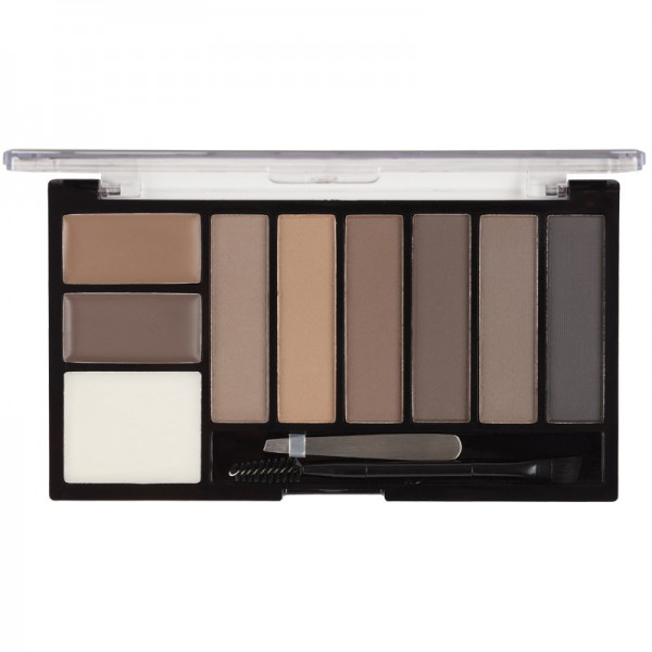 MUA Brow Professional Complete Kit - Mid/Dark