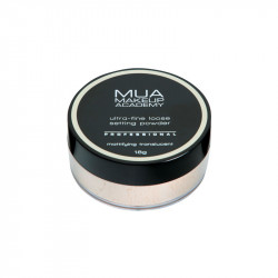MUA Professional Loose Setting Powder - Mattifying Translucent
