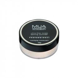 MUA Professional Loose Setting Powder - Mattifying Translucent