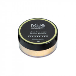 MUA Professional Loose Setting Powder - Banana Bake