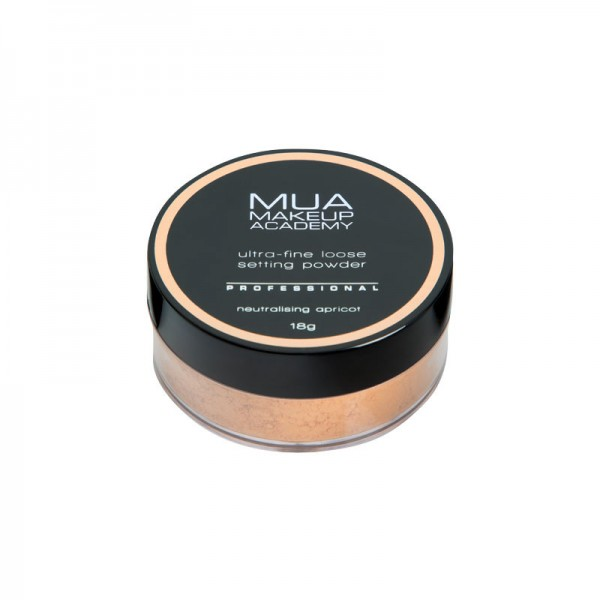 MUA Professional Loose Setting Powder - Neutralising Apricot