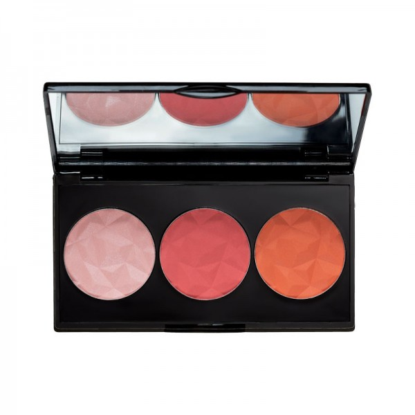 MUA Luxe Bashful Trio Blush 1