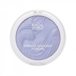MUA Shimmer Highlight Powder - Twinkling Violet