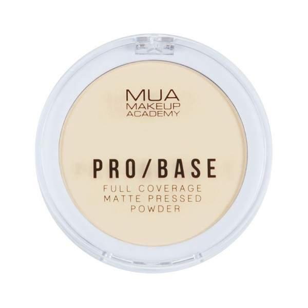 MUA PRO / BASE FULL COVERAGE MATTE PRESSED POWDER