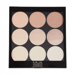 MUA GRADIENT LIGHT PALETTE - GOLDEN GLOW