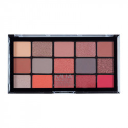MUA Professional 15 Shade Eyeshadow Palette - Fire Vixen