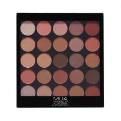 MUA Professional 25 Shade Eyeshadow Palette – Natural Obsession