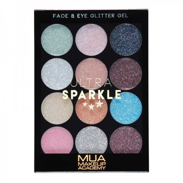 MUA ULTRA SPARKLE PALETTE - COTTON CANDY