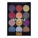 MUA Ultra Sparkle Palette - Sugarplum