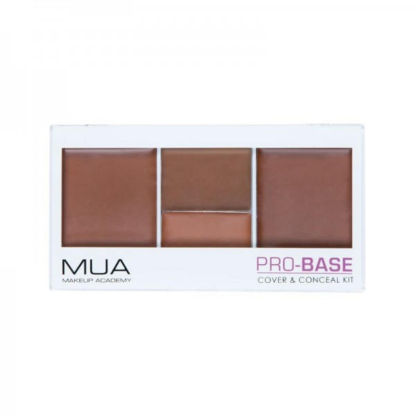 MUA Pro-Base Cover and Conceal Kit - Espresso