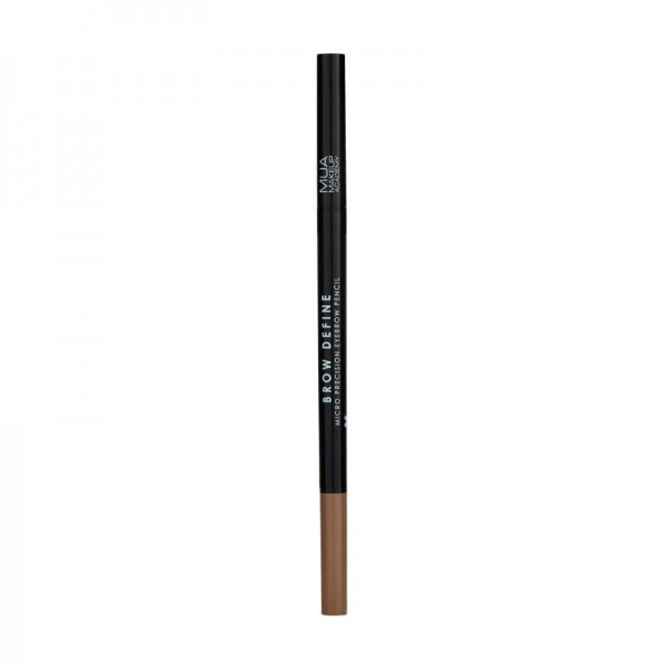MUA BROW DEFINE MICRO EYEBROW PENCIL - LIGHT BROWN