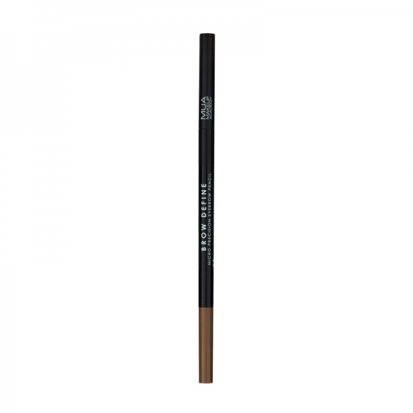 MUA BROW DEFINE MICRO EYEBROW PENCIL - MID BROWN