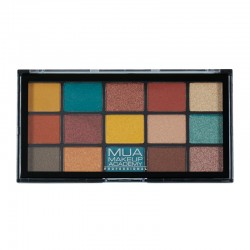 MUA Pro 15 Shade Eyeshadow Palette Force of Nature