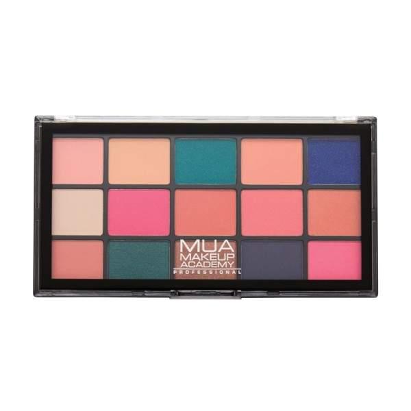 MUA Pro 15 Shade Eyeshadow Palette Flora Fantasy