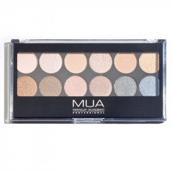 MUA 12 Shade Undressed Eyeshadow Palette