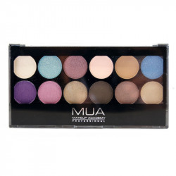 MUA 12 Shade Dusk Till Dawn Eyeshadow Palette
