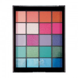 MUA 20 Shade Eyeshadow Palette - Tropical Oceana