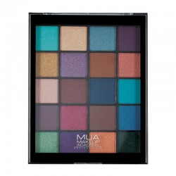 MUA 20 Shade Eyeshadow Palette - Peacock Plumage