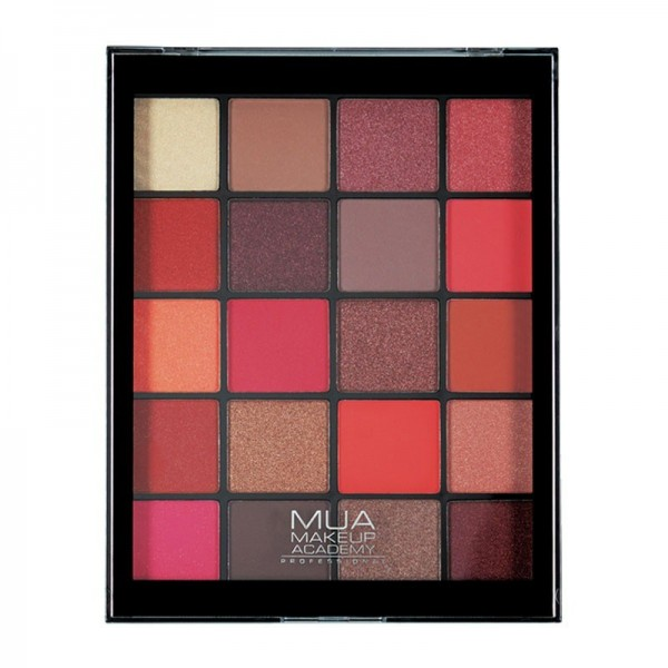 MUA 20 Shade Eyeshadow Palette - Flame Thrower