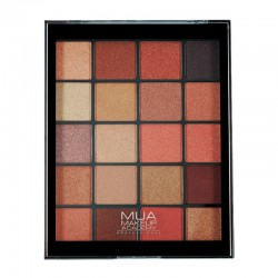 MUA 20 Shade Eyeshadow Palette - Molten Metals