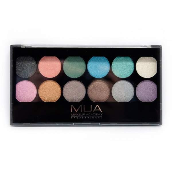 MUA 12 Shade Glitterball Eyeshadow Palette