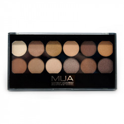 MUA 12 Shade Heaven And Earth Eyeshadow Palette